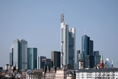 skyline of Frankfurt, Germany