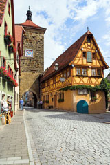 Rothenburg ob der Tauber, Bavaria